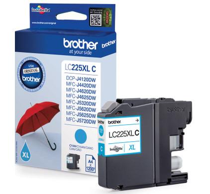 Brother LC-225XLC Cartridge Cyaan XL