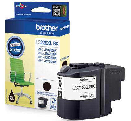 Brother LC-229XLBK Cartridge Zwart XL