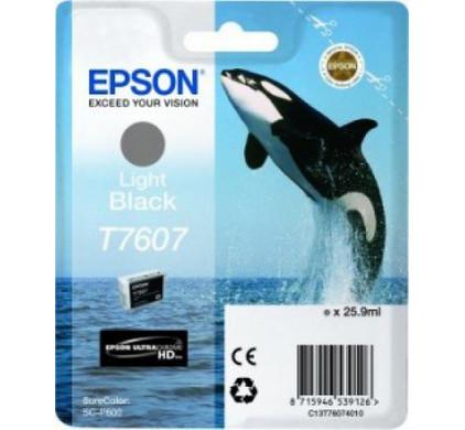 Epson T7607 Cartridge Lichtzwart C13T76074010