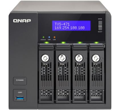 Qnap TVS-471-i3-4G + 12 TB + Switch