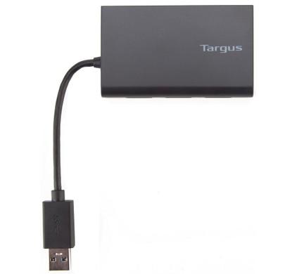 Targus USB 3.0 Hub met Gigabit Ethernet