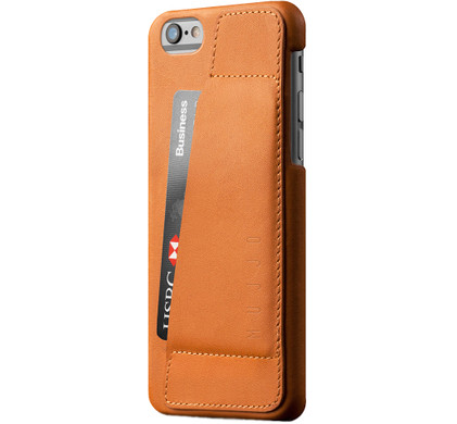 Mujjo Leather Wallet Case 80° Apple iPhone 6/6s Bruin