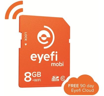 Eye-Fi Mobi SD Kaart 8GB