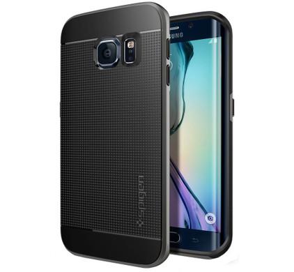 Spigen Neo Hybrid Samsung Galaxy S6 edge Grijs