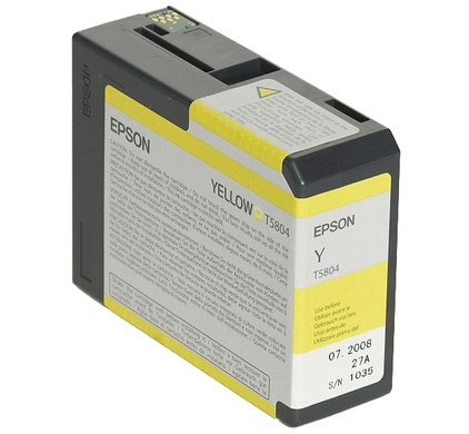 Epson T580400 Yellow Ink Cartridge (geel) C13T580400