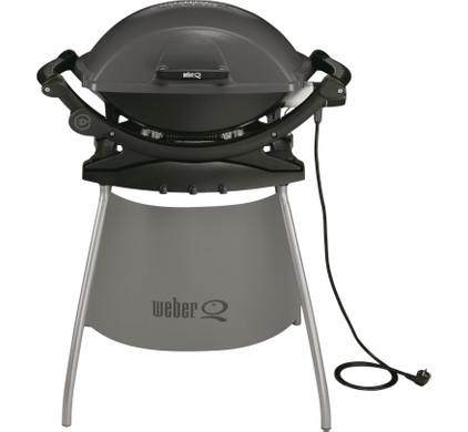 Weber Q 140 Elektrische Barbecue met Onderstel Antraciet