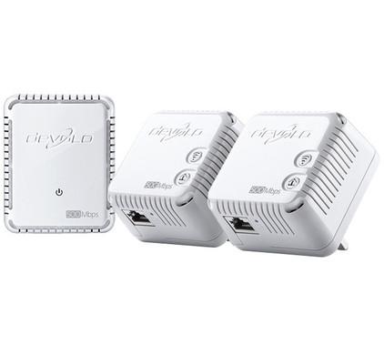 Devolo dLAN 500 WiFi 500 Mbps 3 adapters
