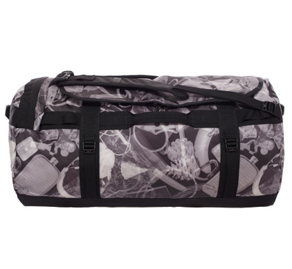 83134ac4595 The North Face Base Camp Duffel TNF Black X-Ray Print - L - Coolblue - Voor  23.59u