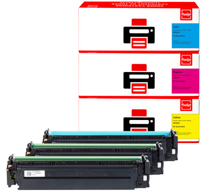 Huismerk HP 128A Toner 3-Kleuren (Pixeljet - CF371AM)