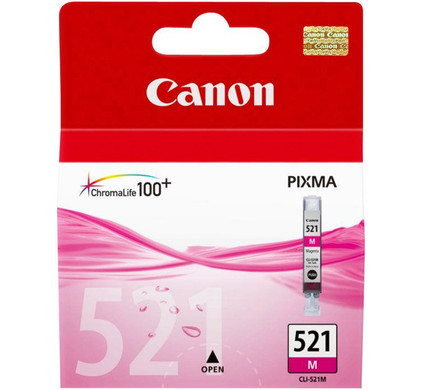 Canon CLI-521M Magenta Ink Cartridge (rood) (2935B001)