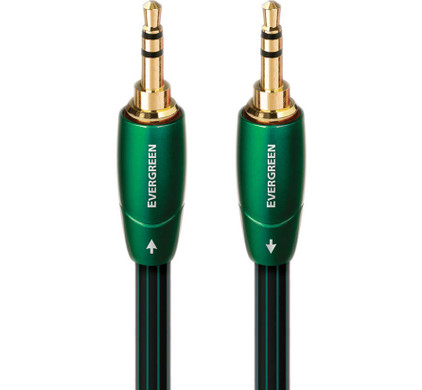 AudioQuest Evergreen 3,5 mm naar 3,5 mm 0,6 meter
