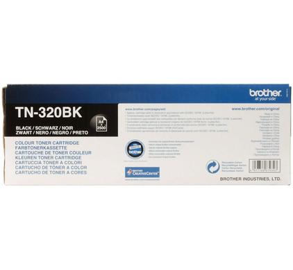 Brother TN-320BK (Zwart)