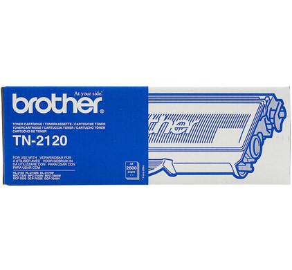 Brother TN-2120 Toner High Capacity (zwart)