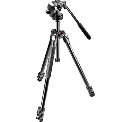 Manfrotto 290 XTRA Kit 2-Way Head Front