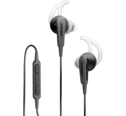 Bose SoundSport In-ear Apple Zwart