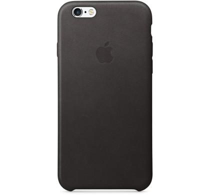 Apple iPhone 6/6s Leather Case Zwart