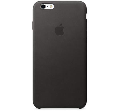 Apple iPhone 6s Plus Leather Case Zwart