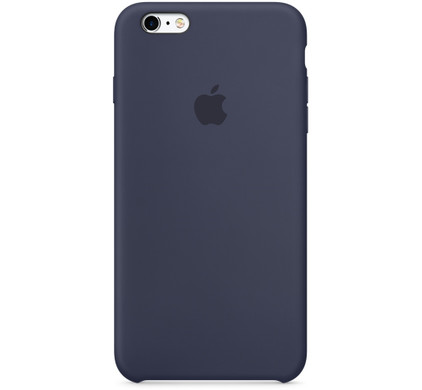 Apple iPhone 6/6s Silicone Case Blauw