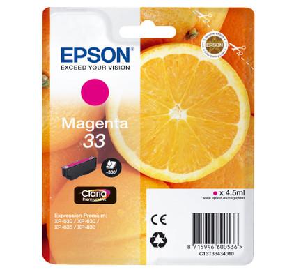 Epson 33 Cartridge Magenta (C13T33434010)