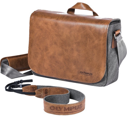 Olympus OM-D Messenger Leather Bag (incl strap)