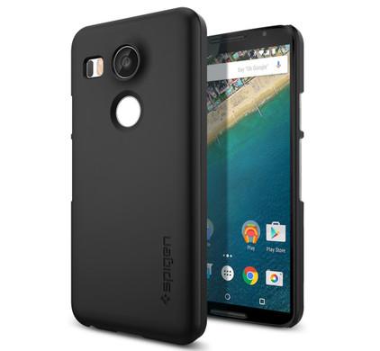 Spigen Thin Fit LG Nexus 5X Zwart