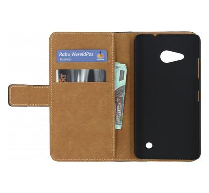 Mobilize Classic Wallet Book Case Microsoft Lumia 550 Zwart