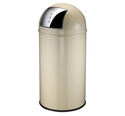 EKO Pushcan 40 Liter Crème