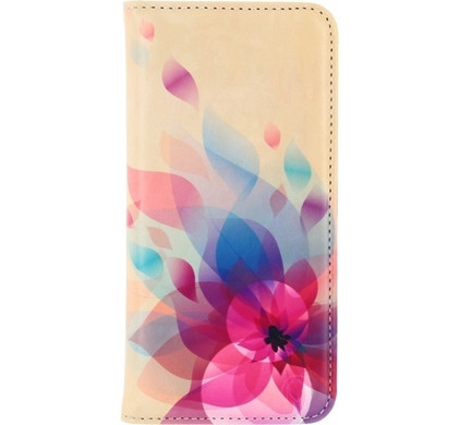 Mobilize Premium Magnet Book Case Samsung Galaxy Grand Prime Fire Flower