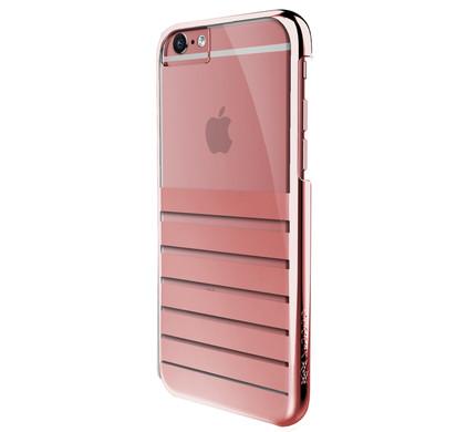 X-Doria Cover Stripes Apple iPhone 6/6s Rose Gold