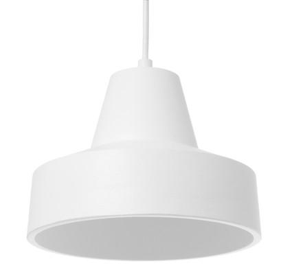 Leitmotiv Hanglamp Ribble One - Aluminium - Wit