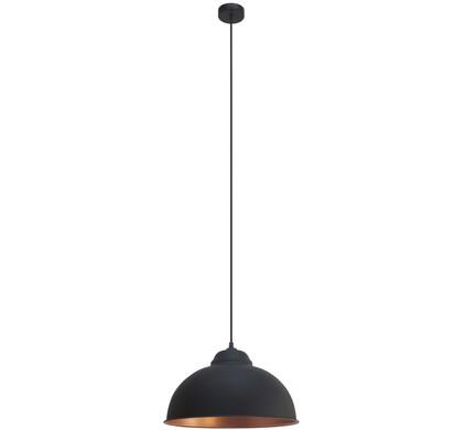 Eglo Truro 2 Hanglamp Zwart Koper Coolblue Voor 23 59u Morgen In Huis