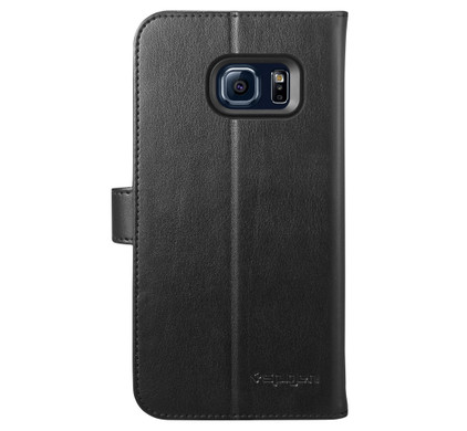 Spigen Wallet S Samsung Galaxy S7 Edge Zwart