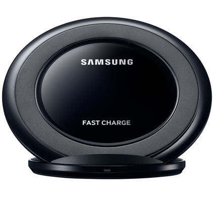 Samsung AFC Wireless Charger Stand Black Main Image