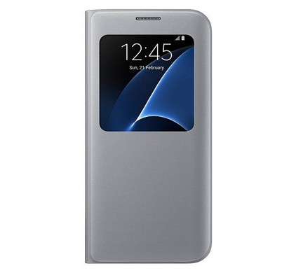 Samsung Galaxy S7 Edge S View Cover Zilver