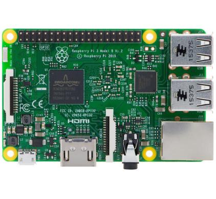 Raspberry Pi 3 Model B Main Image