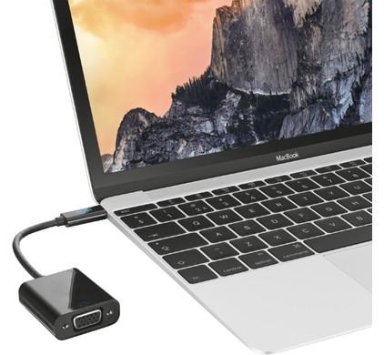 Trust USB Type-C naar VGA Adapter
