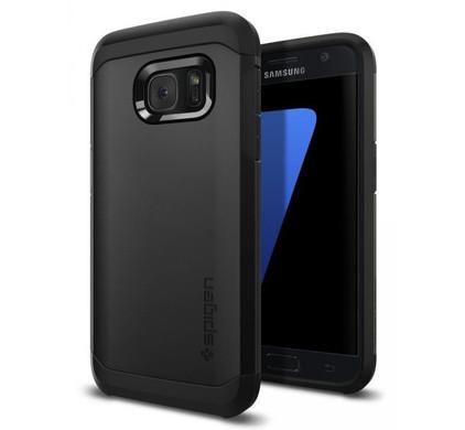 Spigen Tough Armor Samsung Galaxy S7 Zwart