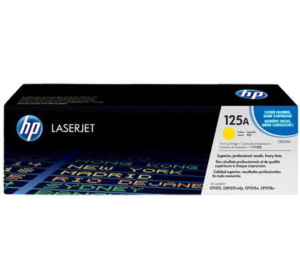 HP 125A Color LaserJet Toner Yellow (geel) (CB542A)
