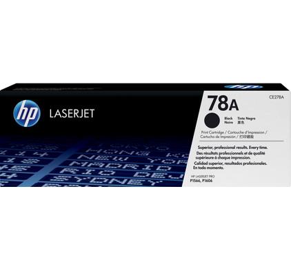 HP 78A LaserJet Toner Black (zwart) (CE278A)
