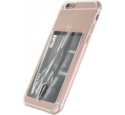 Xccess TPU Card Case Apple iPhone 6/6S Transparant