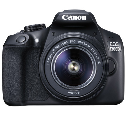 Canon EOS 1300D + 18-55mm III