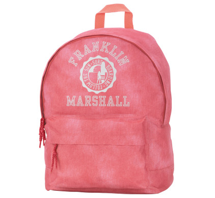 Franklin & Marshall Girls Backpack Vintage Coral