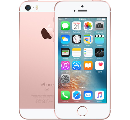 Apple iPhone SE 128GB Rose Gold - Coolblue - Voor 23.59u, morgen in huis