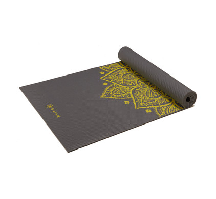 Gaiam Citron Sundial Yoga Mat 5 mm