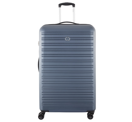 Delsey Segur 4 Wheel Trolley Case 82cm Blue