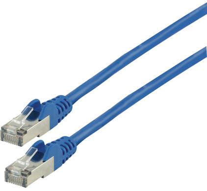 Valueline Netwerkkabel FTP CAT6 3 meter Blauw