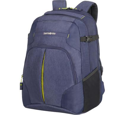 Samsonite Rewind Laptop Expandable Backpack L Dark Blue