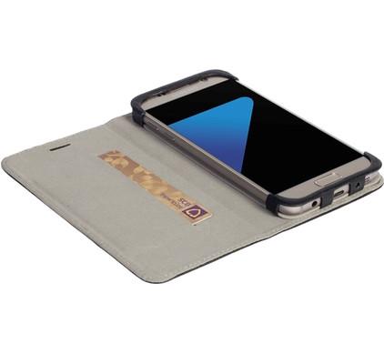 Krusell Malmo Wallet Case Samsung Galaxy S7 Zwart