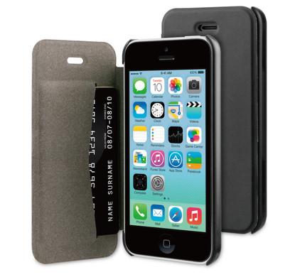 BeHello Book Case Apple iPhone 5C Zwart
