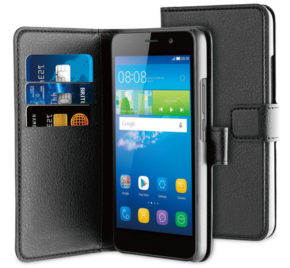 BeHello Wallet Case Huawei Y6 Zwart